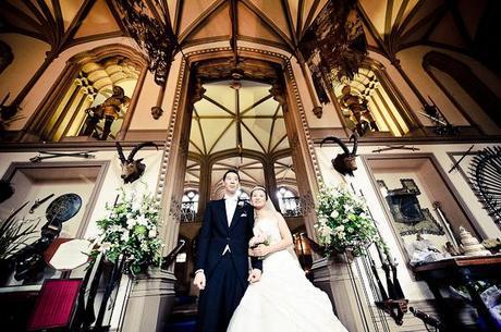 Belvoir Castle wedding Alan and Ruth (19)