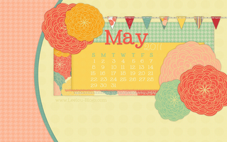 May 2011 Desktop Calender Free!