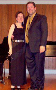 Stuckey and his accompanist Allison Brewster Franzetti were ideally matched--both gifted professionals.