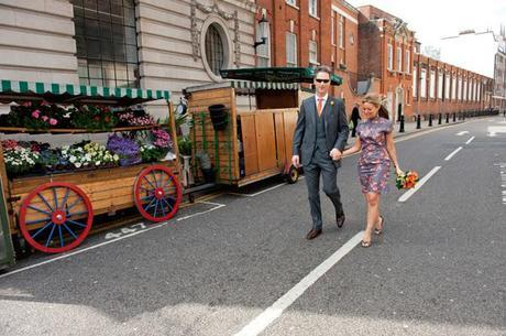 An intimate, colourful and different wedding day