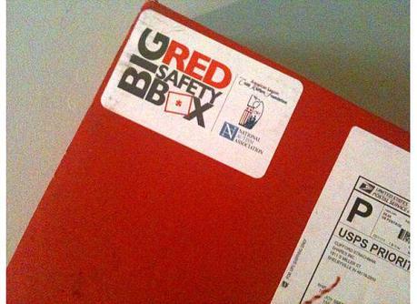 Big Red Safety Box