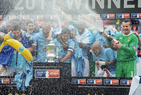 Best Images From Manchester City's FA Cup Victory