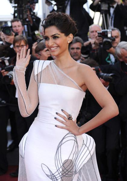 2011 Cannes Film Festival- Sonam Kapoor