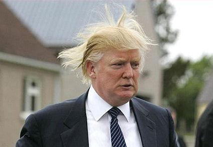 Donald Trump Reveals Hair Care Secrets