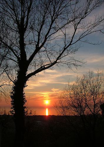 sunset 18 febb 2011