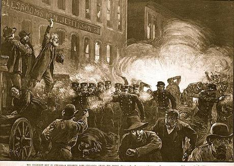 MAY'S OTHER ANNIVERSARY: The Haymarket riot, Chicago 1886.