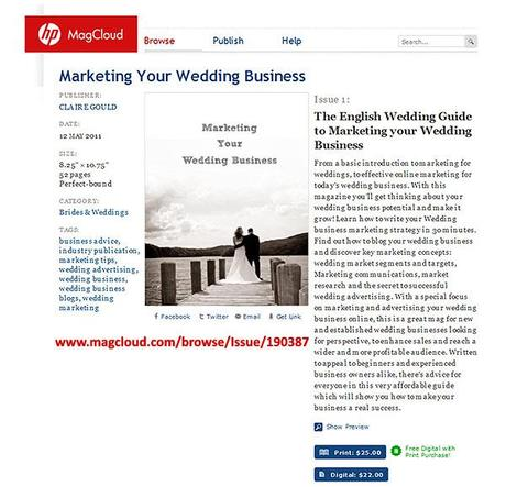 Marketing Your Wedding Business - The Guide on Magcloud