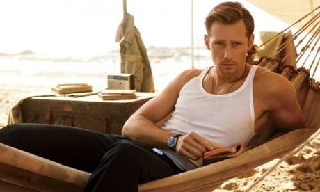 Alexander Skarsgård looks smashing in GQ