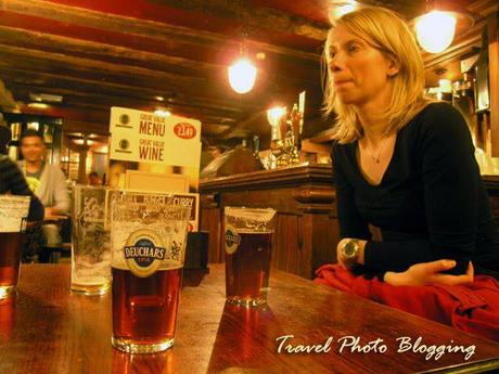 Wordless Wednesday: A pint at Queens head pub