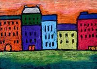 Kandinsky Cityscape