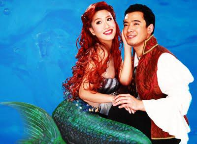 Rachelle Ann Go, Eric Santos make their musical-theater debut in Atlantis Productions' The Little Mermaid