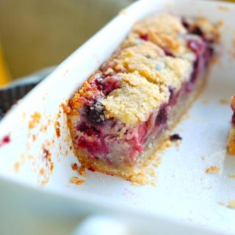 Yes please! Triple Berry Pie Bars