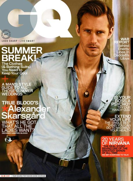 HQ versions of Alexander Skarsgård images in GQ Magazine