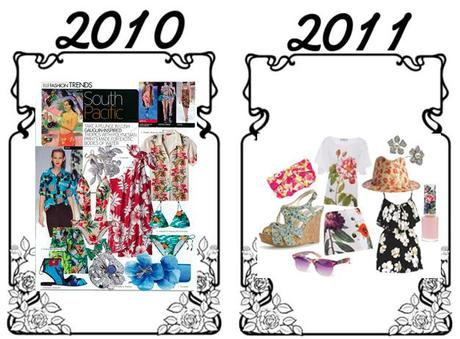 pattern to print floralsTransition Fashion: Same Trend, Different Spin