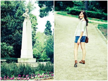 the national garden.
