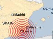 Earthquake Lorca Rocks Murcia Southern Spain
