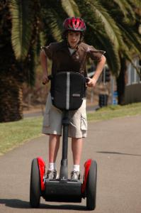 Segways are like an extension of your body