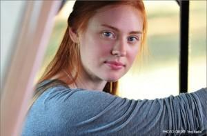 Deborah Ann Woll as Sarah in Seven Days in Utopia