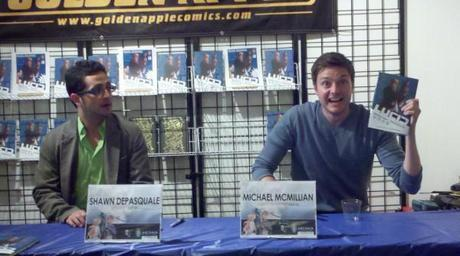 Michael McMillian proudly presents hardcover of Lucid comic