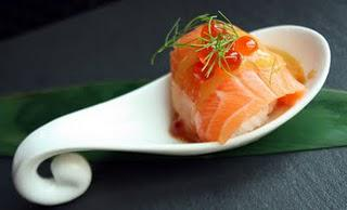 The gift of food art - Honyaki Restaurant