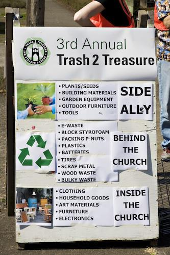 Trash-2-Treasure 2011 Diverts Waste and Creates a Sense of Community