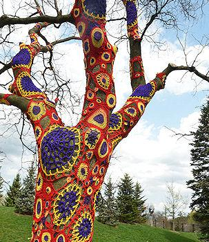 Extreme Knitting And Crochet Art