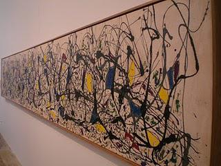 Jackson Pollock - Summertime - Tate Modern