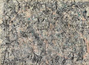 Jackson Pollock - Lavender Mist