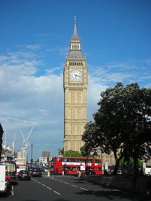 The Big Ben, London.