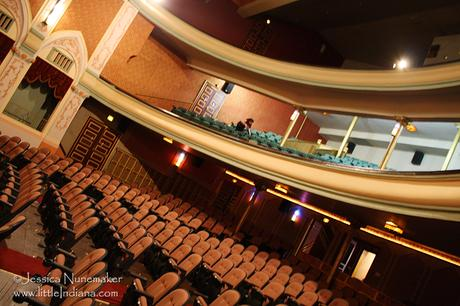 Wabash Theater: Eagles Theater in Wabash, Indiana