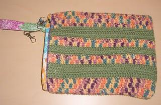 Crochet: Laptop Bag with Six Layer Padding