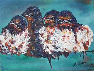 Angry Birds...err...Petulant Birds?