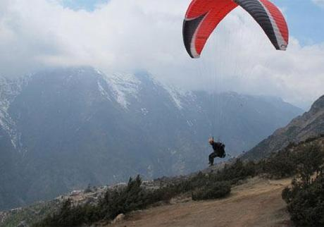 Himalaya 2011: Paragliding From The Summit Of Everest