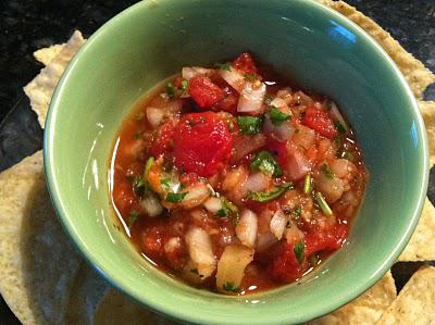 Easy Tomato-Pineapple Salsa