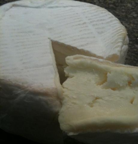 From the market: Nettle Meadow Kunik cheese.