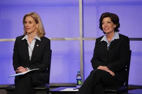 Shining Stars of Davida: Kathy Hochul and Jane Corwin