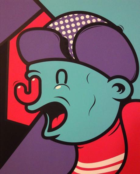 penfold 460x571 Jolly Blokes screenprint by Mr Penfold