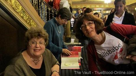 Meeting Charlaine Harris in Ann Arbor at Dead Reckoning book signing