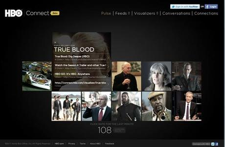 "Get more social with True Blood through ""HBO Connect"""