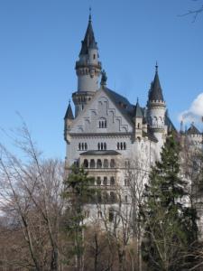a castle für Wagner und Lohengrin: wunderbar!