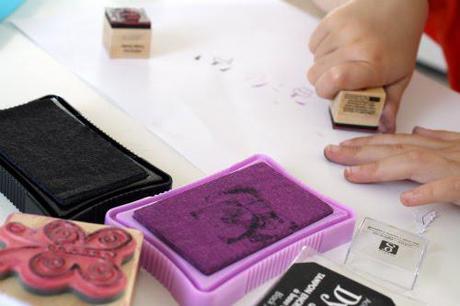 handmade labels ..tutorial