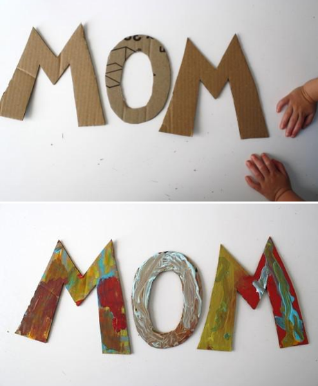 for the love of mom ..kid art