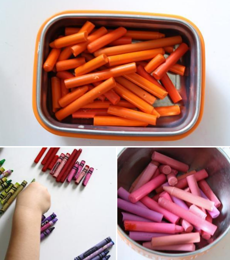 recycled crayons ..tutorial