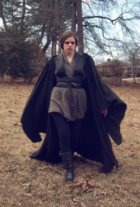 Jedi cloak and costume
