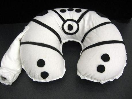 Millennium Falcon neck rest pillow