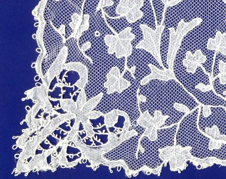 Carrickmacross lace sample