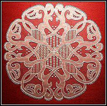 Irish Carrickmacross Lace