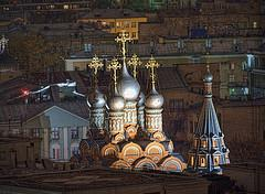 More Moscow roofs and golden crosses
