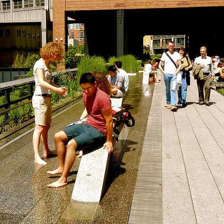 Warm Day on the High Line