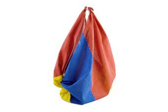 beach ball bag - closed